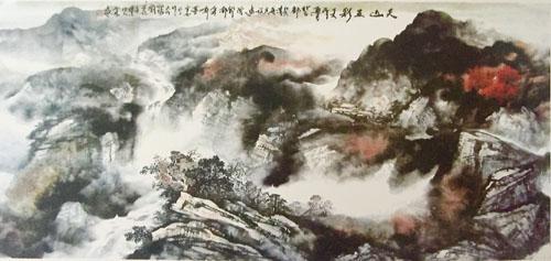 新派山水雪景创始人石林国画作品清赏