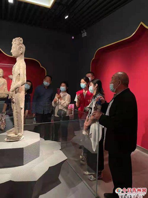 国庆黄金周青州市博物馆游客量再创新高